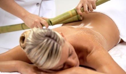 masajul cu bambus