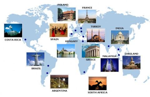 harta turistica